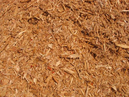 Wood chips from pallets